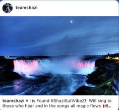 All is Found #ShaziSufiVibeZ!! Will sing to those who hear and in the songs all magic flows 🇨🇦🍁 Where the North wind meets the sea There's a mother full of memory Come, my darling, homeward bound When all is lost, then all is found Niagara Falls Facts, Niagara Falls At Night, American Falls, In The Beginning God, World Travel Guide, Fall Photos, Canada Travel, Day Tours, Wonderful Places