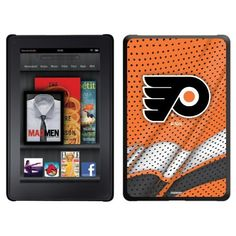 Philadelphia Flyers® - Home Jersey design on Thinshield Case for Amazon Kindle Fire by Coveroo. $39.95. This hard shell polycarbonate case offers a slim fit form factor, while covering the back and sides of your Kindle Fire
