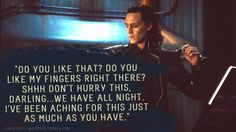 "Loki's Dirty Whispers - Submission: ""Do you like that? Do you like my fingers right there?"""