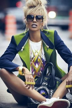 Good mix and chic and street.