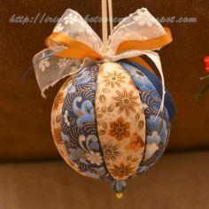 Рукотворение: Новогодние шары. Кинусайга.