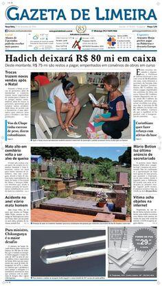 Nuvem do Jornaleiro Jornal Gazeta de Limeira