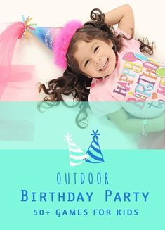 Make your next Kids Birthday Party unforgettable with these 50+ Birthday Party Ideas! We think games are a great way to get everyone playing together and having some good fun, so these game ideas are specific for groups of kids.  #birthday #party #outdoor #backyard #summer #kids #kid #parenting #birthdayparty #party #ideas #partyideas #games #outside #outdoorplay