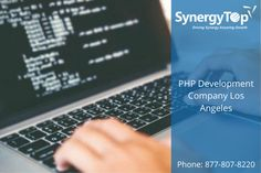 SynergyTop is the PHP Development Company in Los Angeles that offers web apps using PHP. Our PHP solutions are flexible, reliable, easy to use, and highly secure. #PHPDevelopmentCompanyLosAngeles #PHPDevelopmentService #PHPDeveloper #PHPDevelopment Enterprise Application, Mobile Application, Spring Framework, Microsoft Sql Server, Object Oriented Programming, Business Performance, Drupal, Free Quotes, Software Development