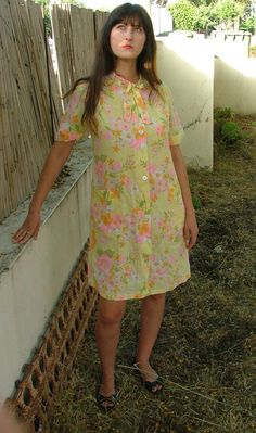Dress.vintage dress.dresses.women dress.womens by shpirulina