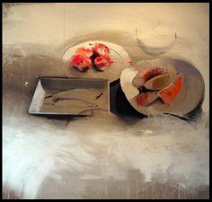 fran mora: Primer Premio III Certamen Internacional de Pintura Laura Otero