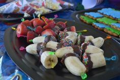 No party is complete without Sweet Treats! Sweet Potato Casserole, Sweet Potato Recipes, Fruits For Kids, Kids Fruit, Fruit Skewers, Kebabs, Sweet Pea Riverdale, Brisbane Kids, Fruit Party
