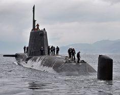 Brytyjskie okręty podwodne Astute - niewidzialne i atomowe - Tech - WP.PL