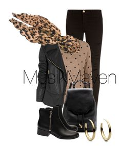 Leather Lady by musikmaven on Polyvore featuring polyvore, fashion, style, MANGO, Gucci, Frame Denim, 3.1 Phillip Lim, rag & bone, Michael Kors, Feather & Stone, clothing, Leather, leatherjacket, fallfashion and fallstyle