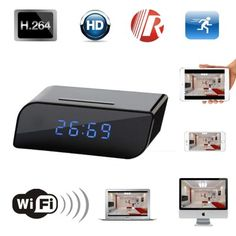 Safest C07 Ρολόι IP/WiFi Κρυφή Κάμερα FHD(1080P) - Night Vision