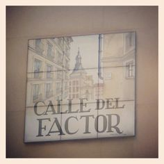 Calle del Factor