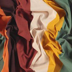 Stretch jersey multifarget blokk stripe - STOFF & STIL