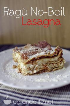 Ragù No-Boil Lasagna #NewTraDish