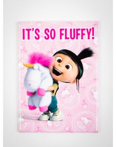 "Despicable Me ""It's So Fluffy!"" Magnet"