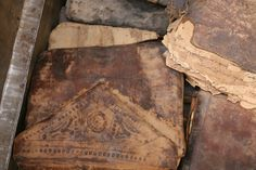 The #Timbuctoo manuscripts. These ancient and beautiful documents are currently in danger due to the situation in #Mali.