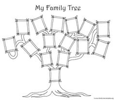 Pin by carly van dyke on activity days pinterest family trees coloring page for kids a simple fun family tree chart family tree coloring pages printable saigontimesfo