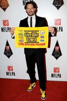 Hometown Joe. A big fan of the Pittsburgh Steelers. Who isn't? ;)