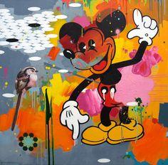 44 Original Artworks curated by Saatchi Art, Pop Art: Inspired by Andy Warhol. Original Art Collection created on Art Pop, Modern Art, Contemporary Art, Art Watercolor, Orange Art, Sculpture, Retro, Fine Art Paper, Collage Art