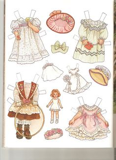 Sew Beautiful paper doll Martha 2 | Flickr - Photo Sharing!