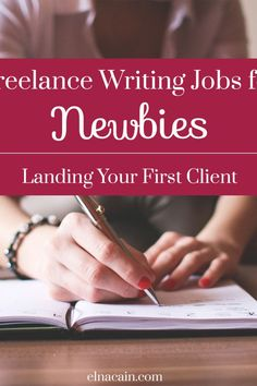 New to freelance writing? Don't know where to start? Well check out my blog series Freelance Writing Jobs for Newbies to get some strategies to landing gigs!