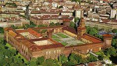 Castello sforzesco- Milano Milano Giorno e Notte - We Love You! http://www.milanogiornoenotte.com