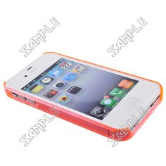 Plastic Bumper Frame Case for iPhone 4/4s (Pink) $0.98