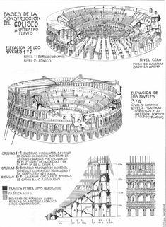 Interior Architecture Drawing, Architecture Concept Drawings, Roman Architecture, Ancient Architecture, Architecture Details, Roman History, Art History, Ancient Rome, Ancient History