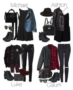 """""""5SOS Styles: Tia Boots from Boohoo"""" by fivesecondsofinspiration ❤ liked on Polyvore featuring Boohoo, Topshop, Forever 21, Ray-Ban, Glamorous, H&M, Mulberry, 21 Men, Vero Moda and Levi's"""