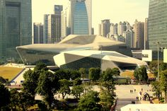 Guangzhou Opera House, by Zaha Hadid, Guangzhou, China