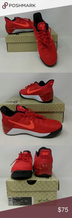 1481fd70dd06 Nike Kobe AD (GS) Basketball Shoes NWT. NiB. In university red and