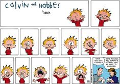 Calvin and Hobbes Comic Strip  for Nov/23/2014 on GoComics.com