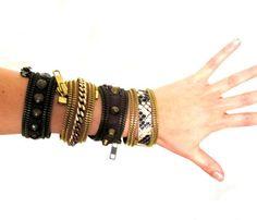 Zipper Cuffs