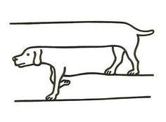 ずれた犬 - まとめのインテリアの画像