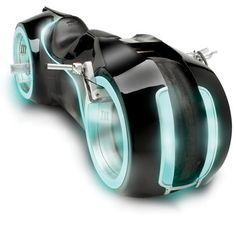 Not sure if this is the future of motorcycling but certainly turns heads, if not corners...