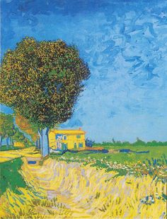 Vincent van Gogh (1853–1890) Avenue at Arles with houses
