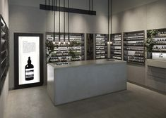 Tolila+Gilliland convert jewellery shop into felt-clad Aesop store in London