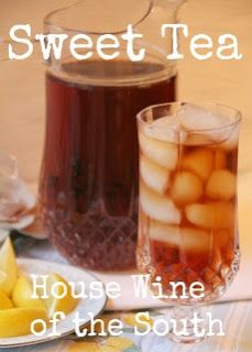 Pitcher Perfect Sweet tea-©From the Kitchen of Deep South Dish.Prep time:10 min |Inactive time: 20 min | 	Yield: 1/2 gallon (8 servings)-Who makes 1/2 gallon of tea?Especially in the South?LOL.