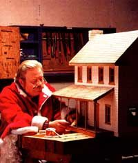 Build your own scale farm-style dollhouse from inexpensive, readily available materials with these original plans from MOTHER. Originally published as