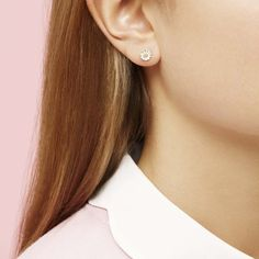 e70572e12 Estella Bartlett Two Colour Daisy Stud Earrings EB974C