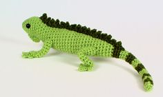 Iguana crochet pattern