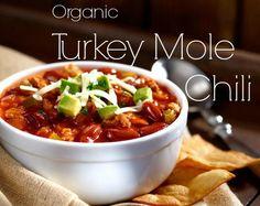 Organic Turkey Mole Chili (With Vegetarian Option) Love & Eco   Green Living & Philanthropy Inspiration