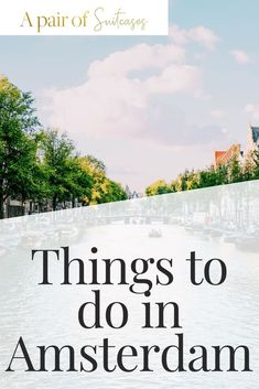 Amsterdam is a truly amazing city, in this guide we'll help you create your perfect itinerary of things to do in Amsterdam Amsterdam Itinerary, Amsterdam Travel, Travel Around Europe, Croatia Travel, Short Break, Best Cities, European Travel, Where To Go, Trip Planning