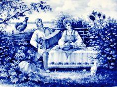 гжель - Схемы вышивки - dolly89 - Авторы - Портал «Вышивка крестом»