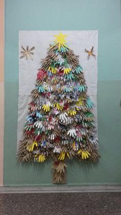 Χριστουγεννιάτικο δέντρο από χαρτί!
