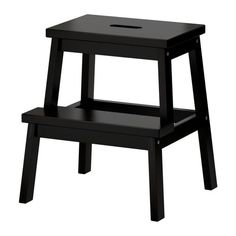 IKEA - BEKVÄM, Step stool, Solid wood is a durable natural material.Hand-hole in the top step makes the step stool easy to move.