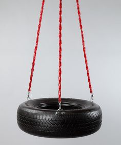 Red Swivel Tire Swing