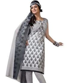 Miraan Cotton Printed Unstitched Shree Ganesh Dress Material SG610