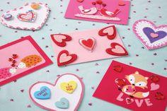 Kids' Valentine's Day: Handmade Cards