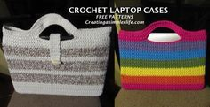 FREE Patterns for these laptop cases!