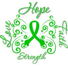 Hope Faith Love Strength Butterfly Cerebral Palsy